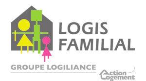 Logo logis familial